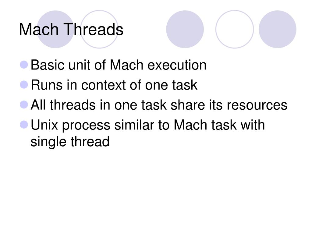 Mach Threads
