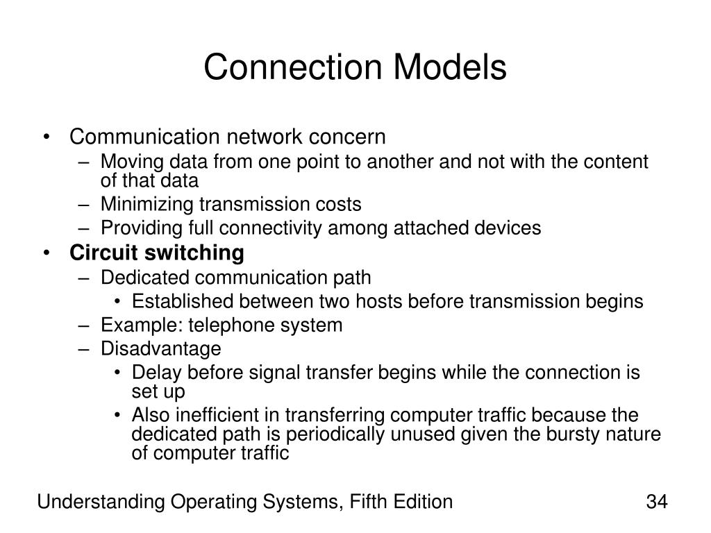 Connection Models