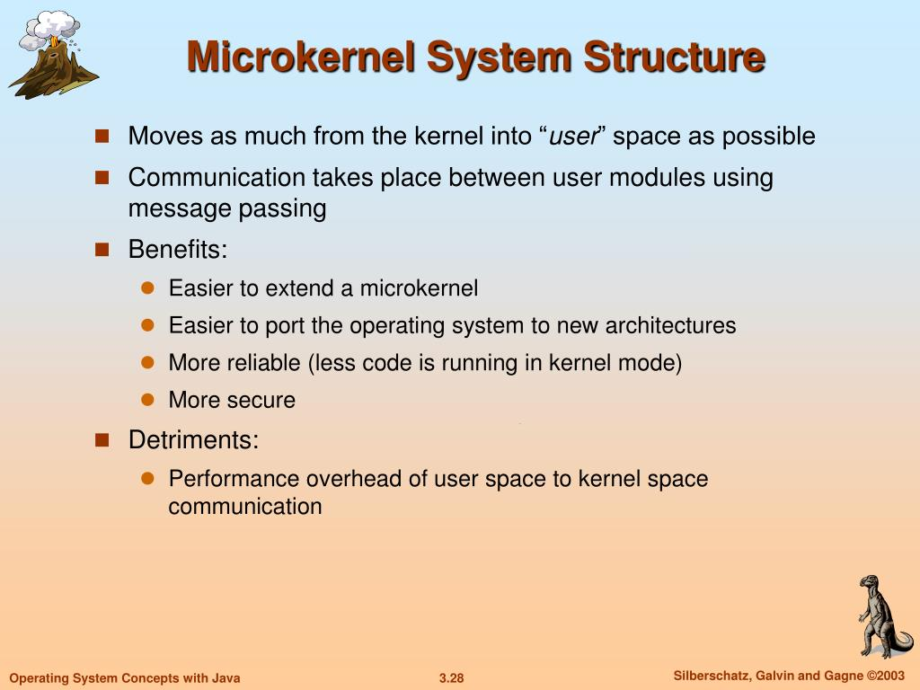 Microkernel System Structure