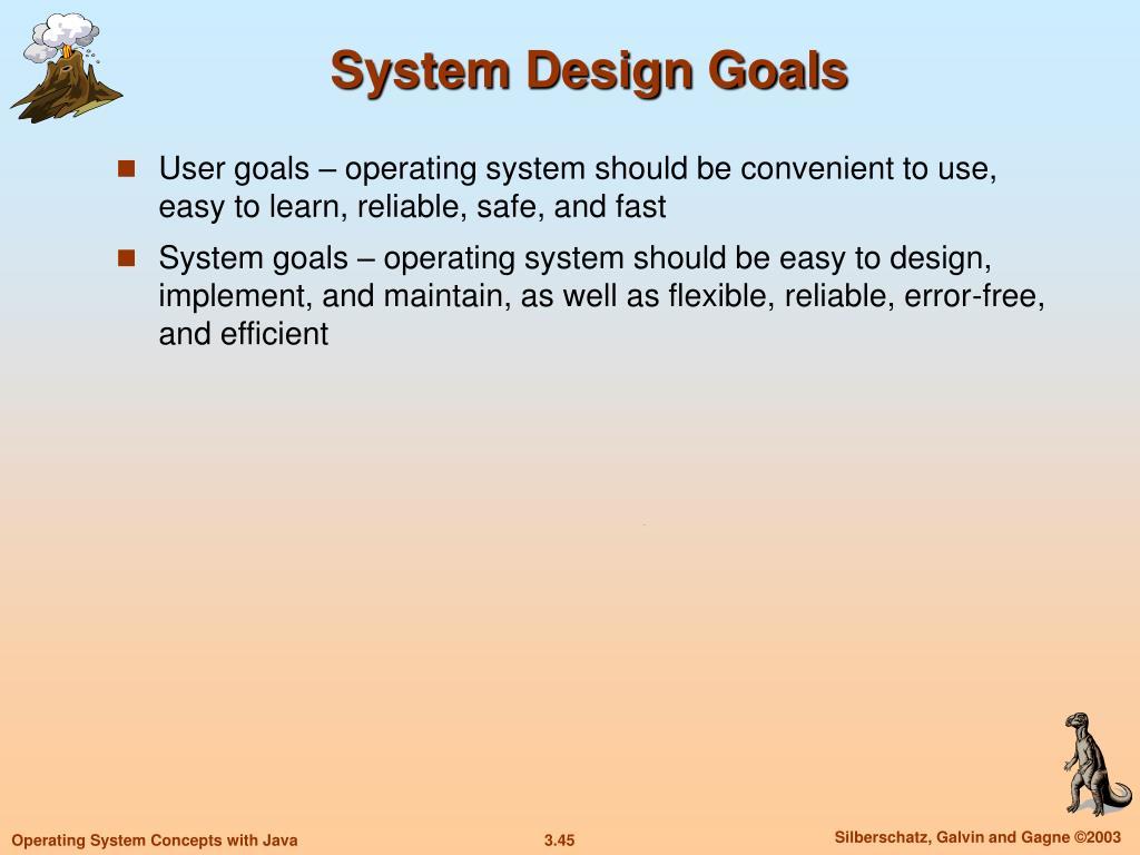 System Design Goals