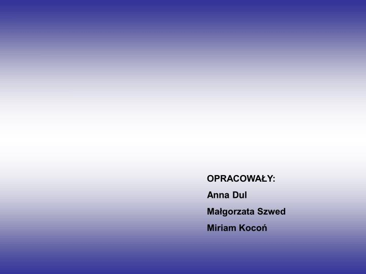 OPRACOWAY: