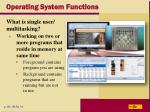 operating system functions9