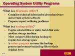 operating system utility programs24
