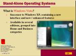 stand alone operating systems28
