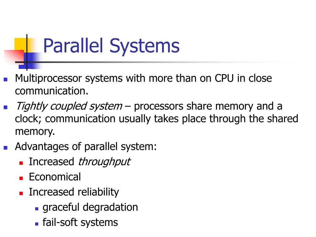 Parallel Systems