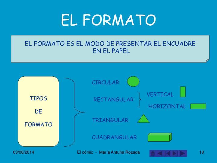 EL FORMATO