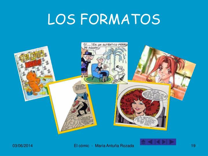 LOS FORMATOS
