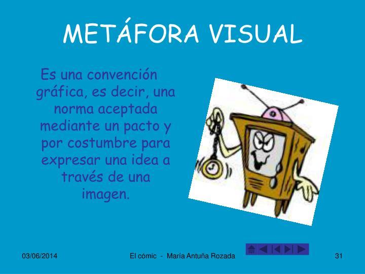 METÁFORA VISUAL