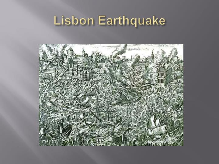 Lisbon earthquake