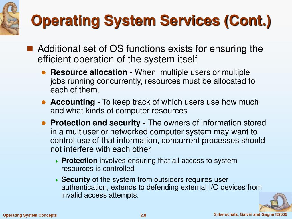 Operating System Services (Cont.)