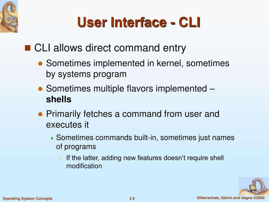 User Interface - CLI