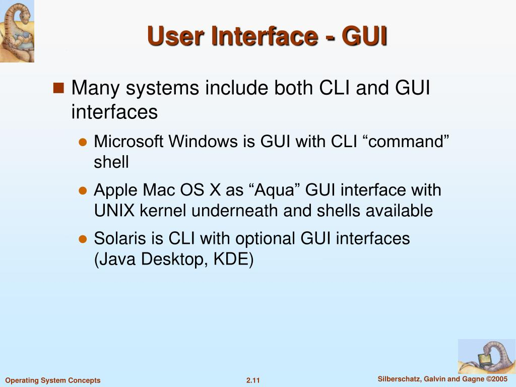 User Interface - GUI