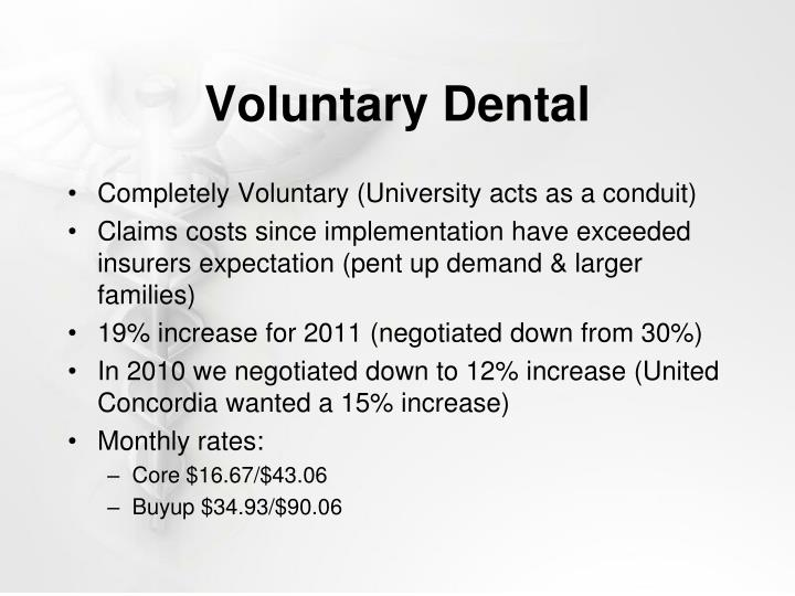 Voluntary Dental