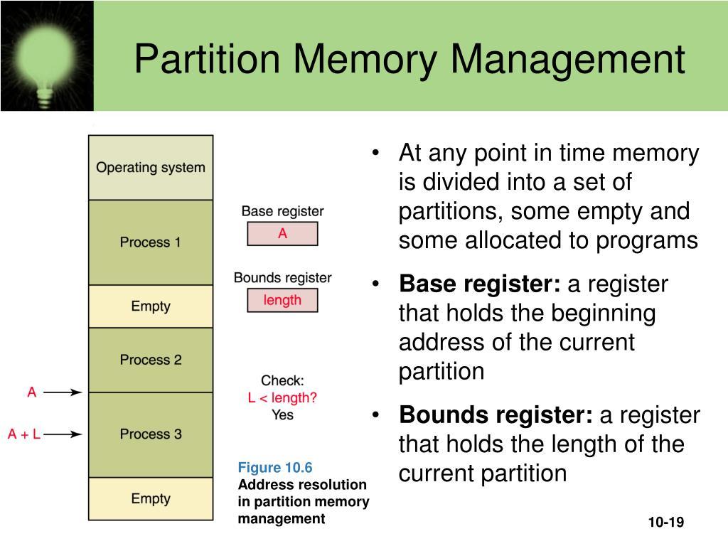 Partition Memory Management