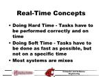 real time concepts