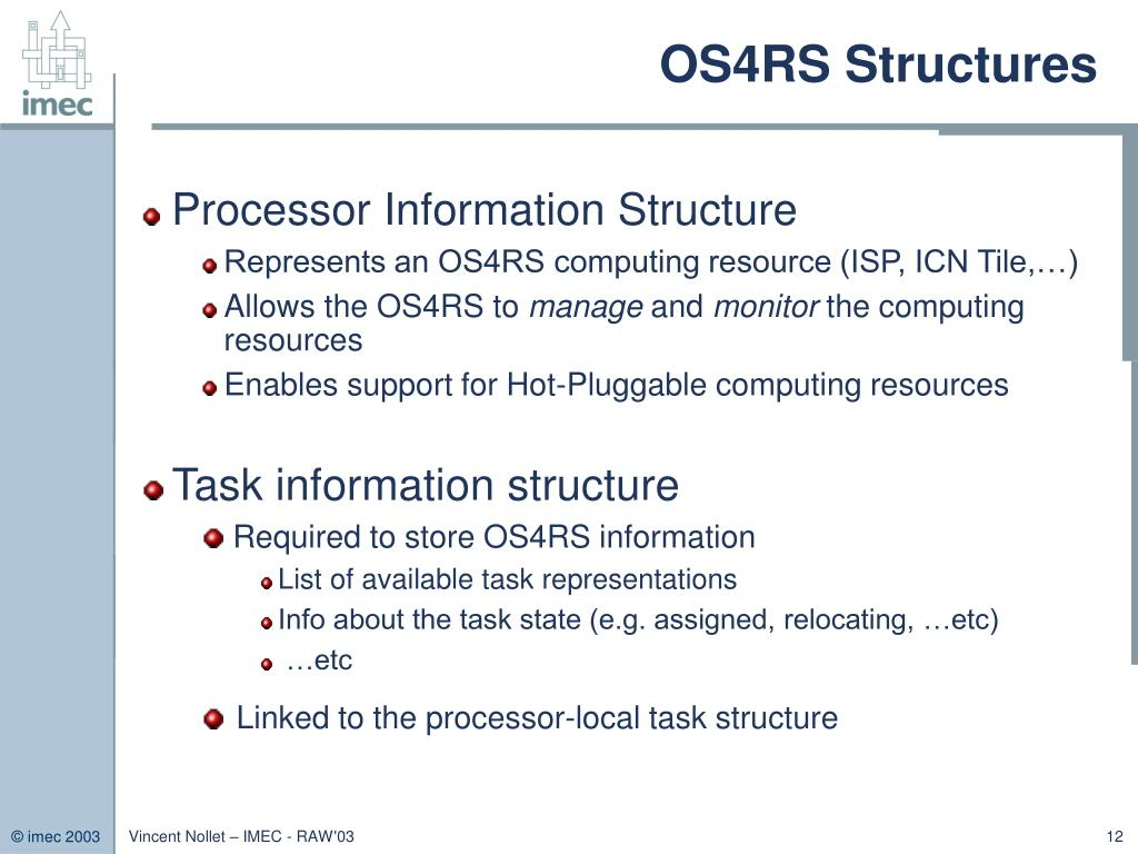 OS4RS Structures