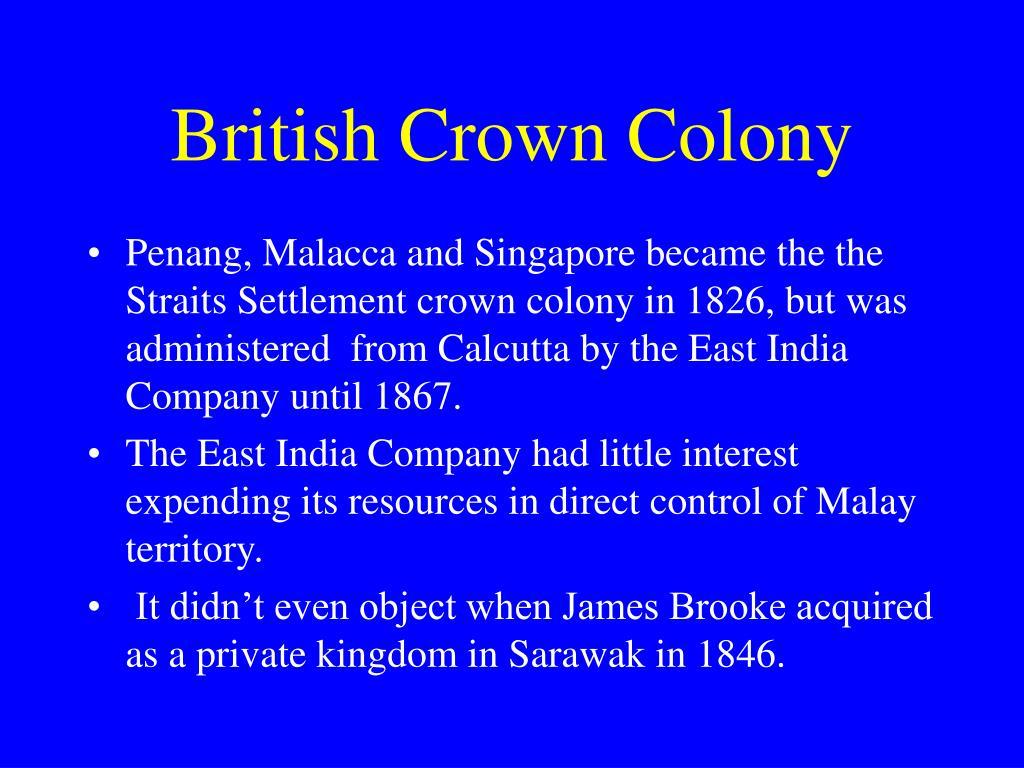 British Crown Colony