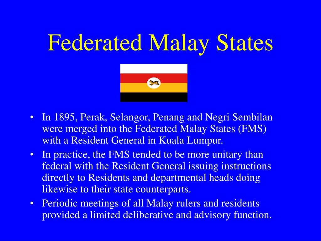 Federated Malay States