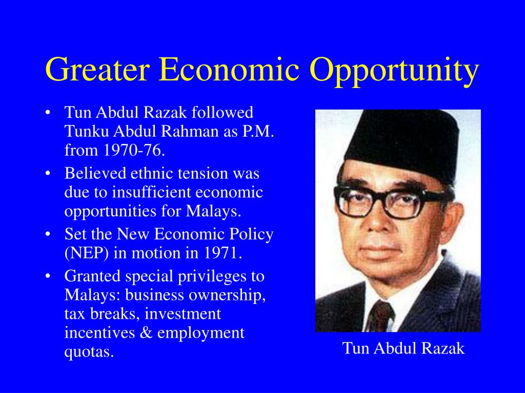 Greater Economic Opportunity