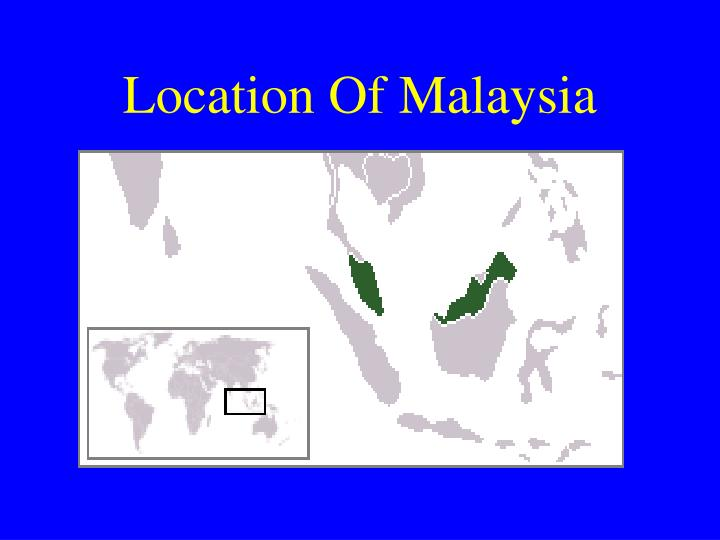 Location of malaysia
