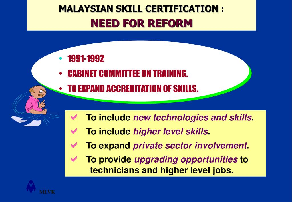 MALAYSIAN SKILL CERTIFICATION