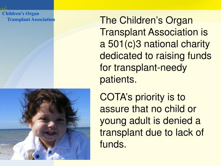 Children's Organ
