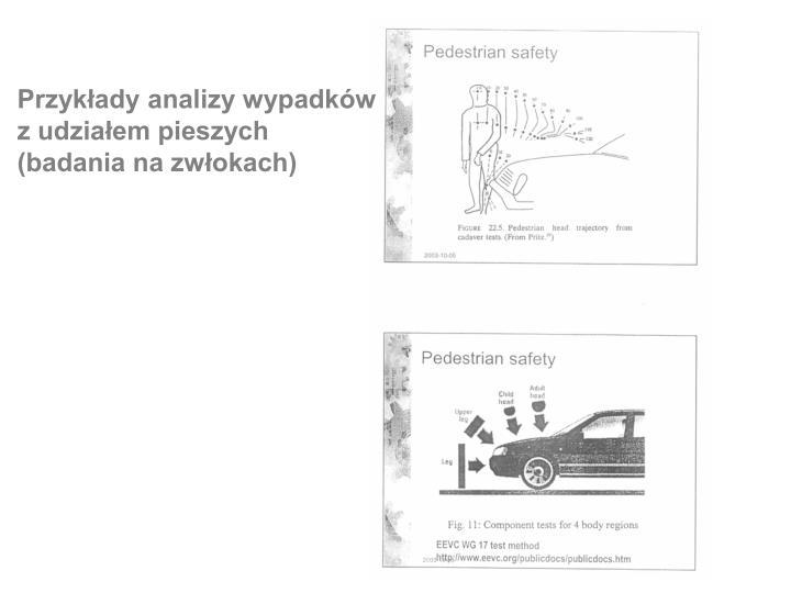 Przykłady analizy wypadków