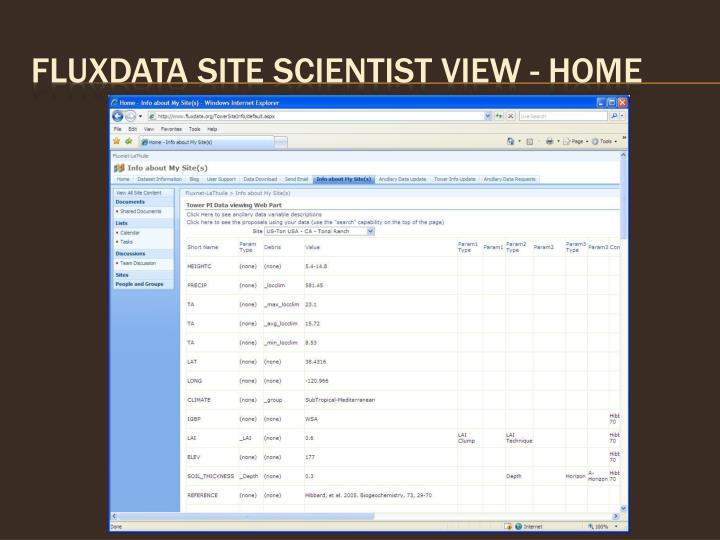 Fluxdata