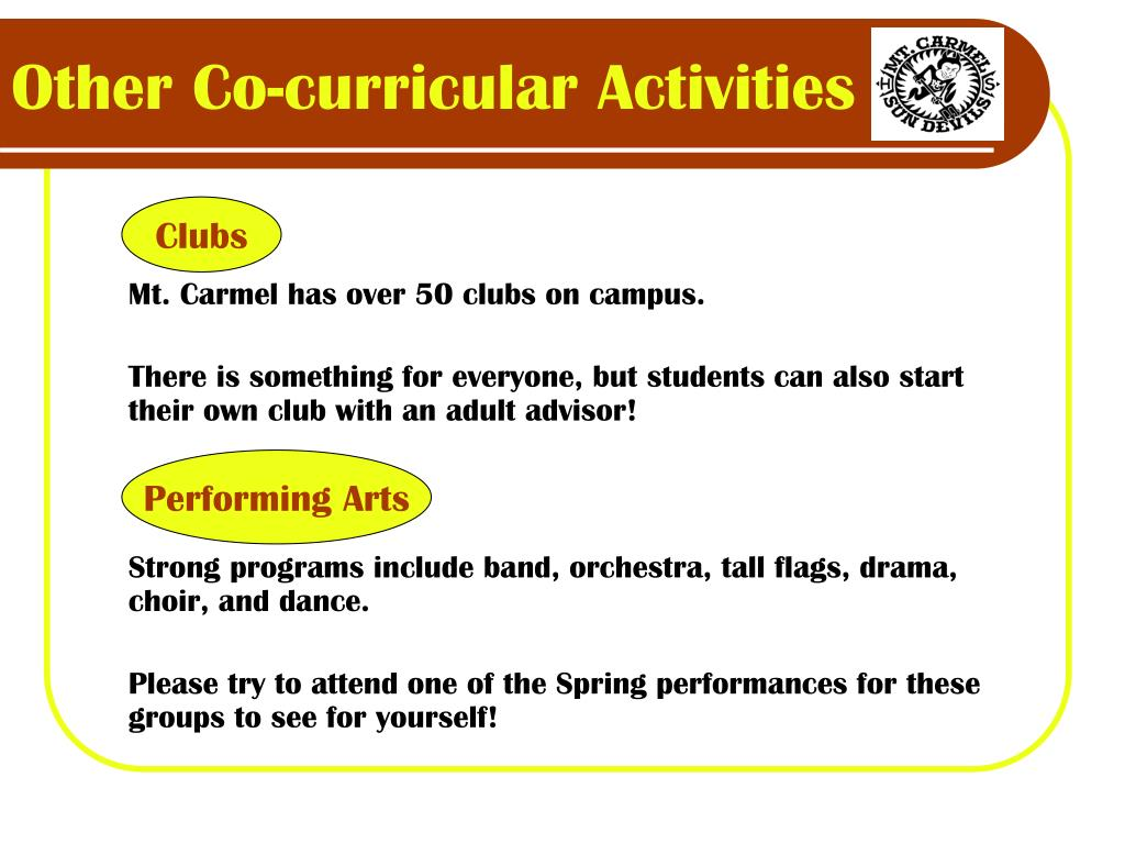 Other Co-curricular Activities