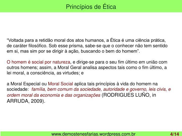 Princípios de Ética