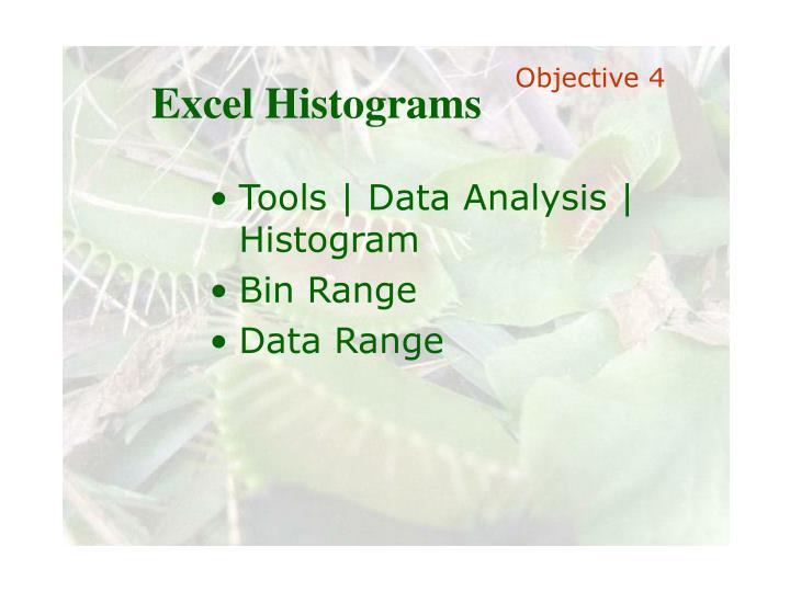 Excel Histograms