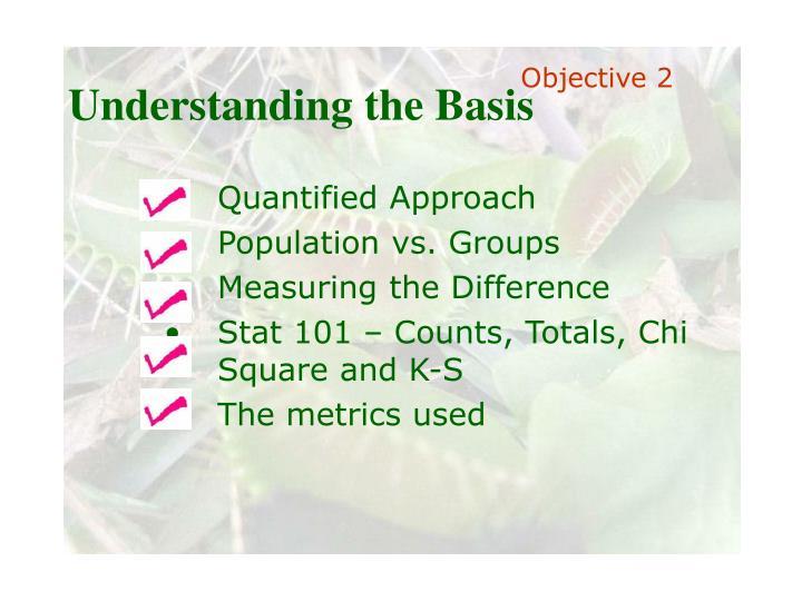 Understanding the Basis