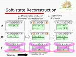 soft state reconstruction