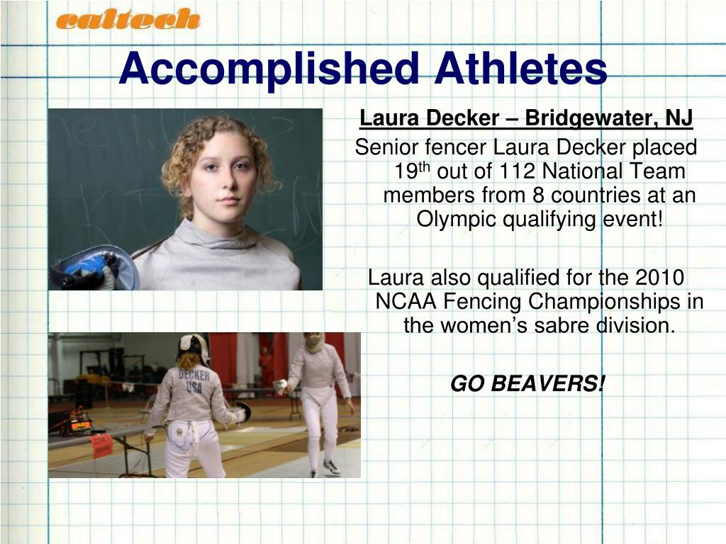 Accomplished Athletes