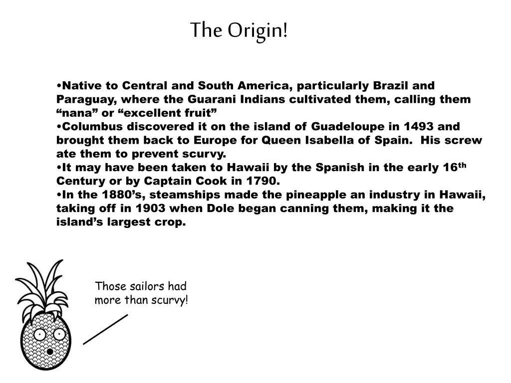 The Origin!