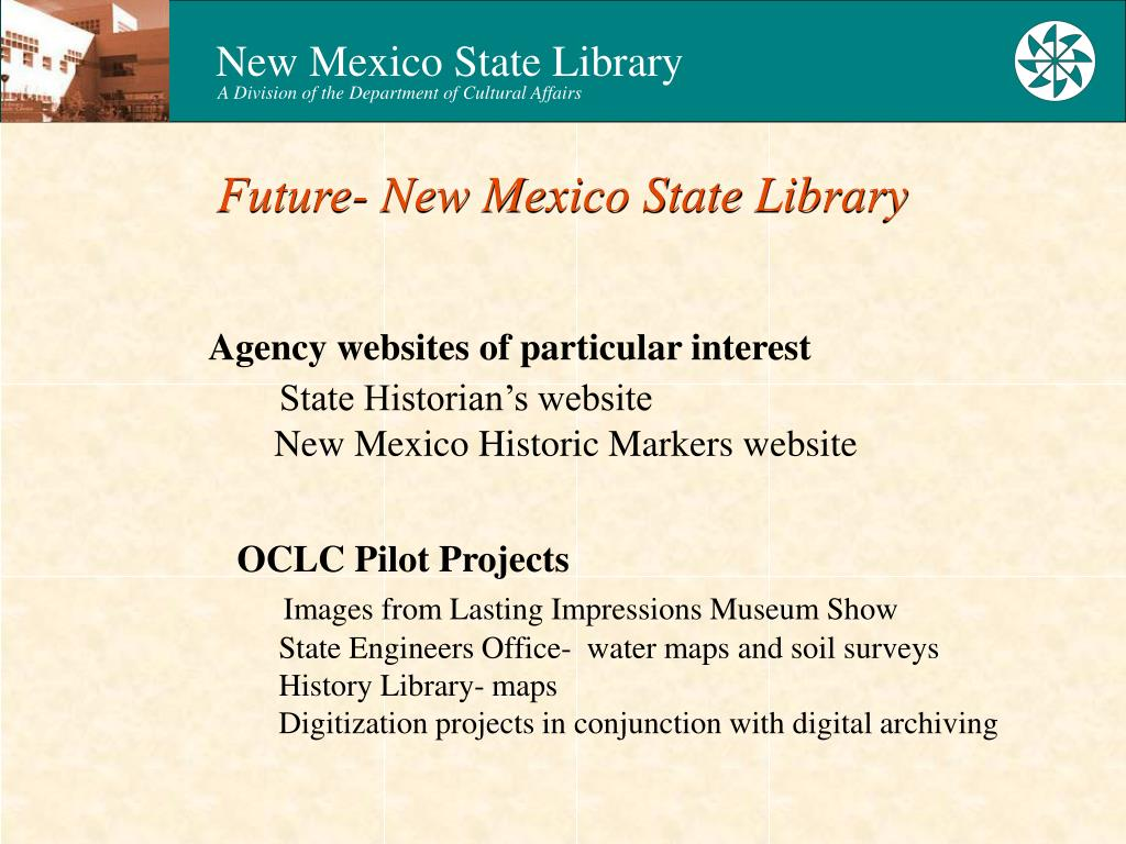 Future- New Mexico State Library