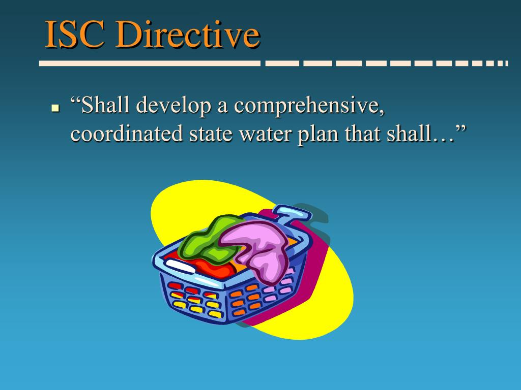ISC Directive