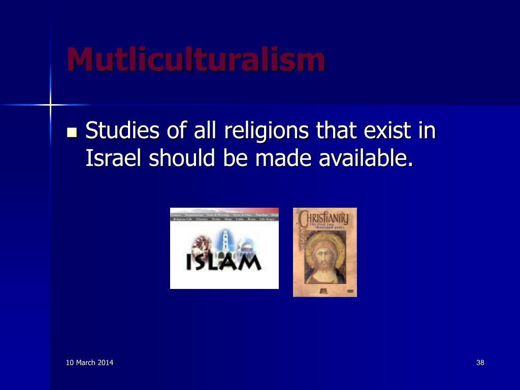 Mutliculturalism