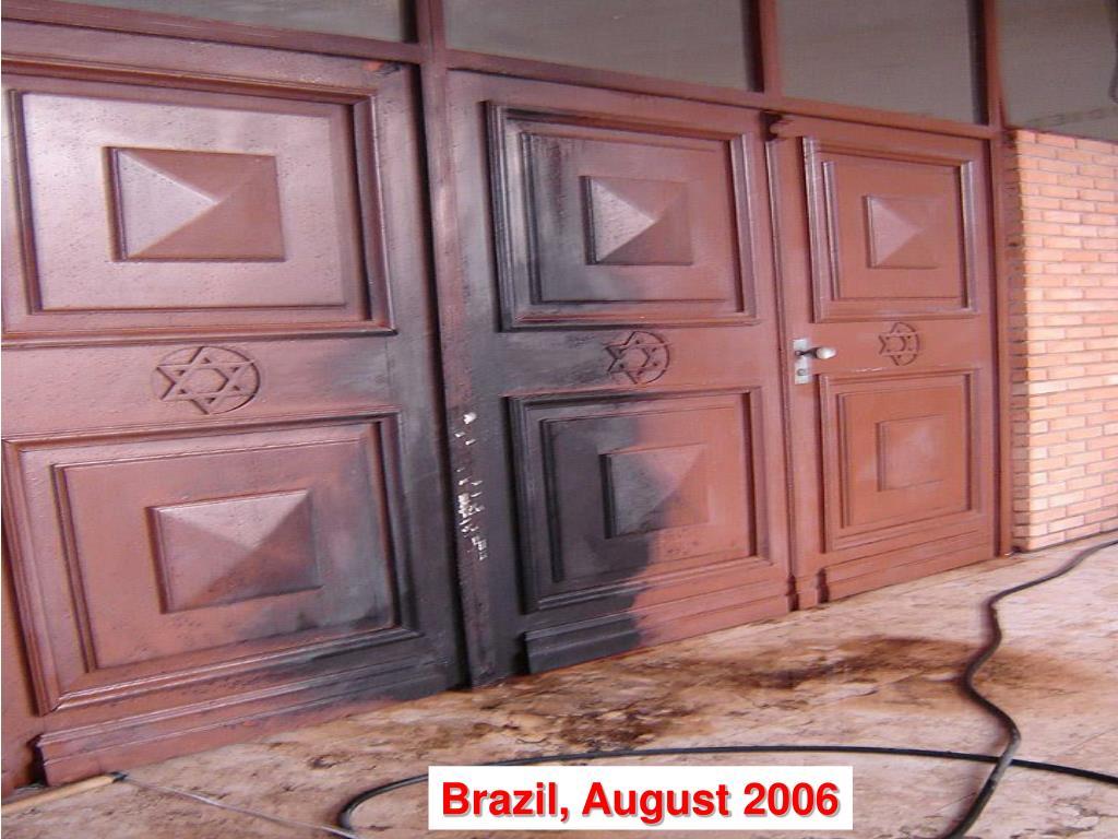 Brazil, August 2006