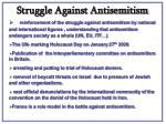 struggle against antisemitism