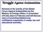 struggle against antisemitism36