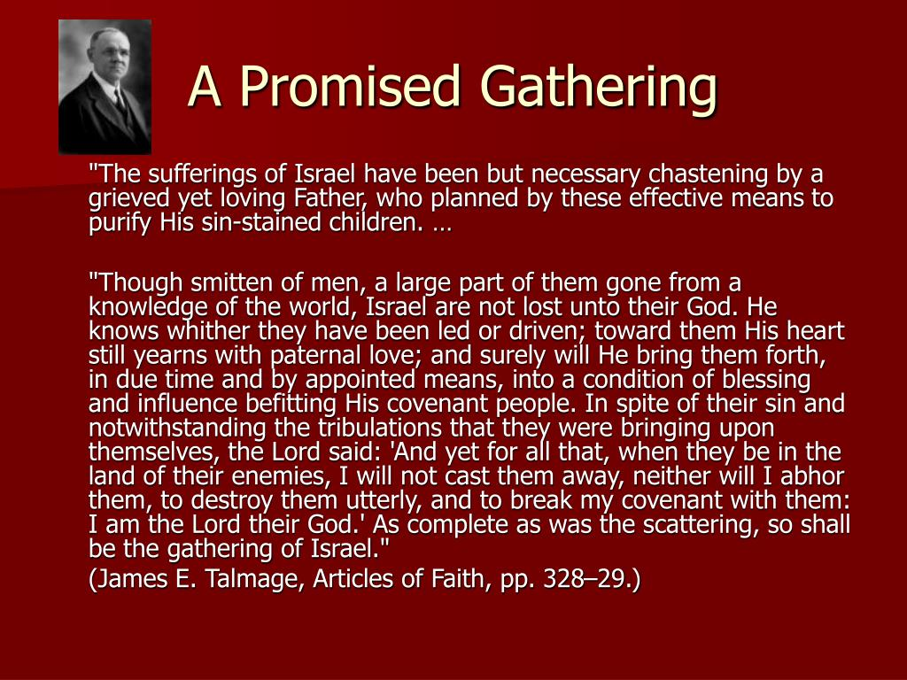A Promised Gathering