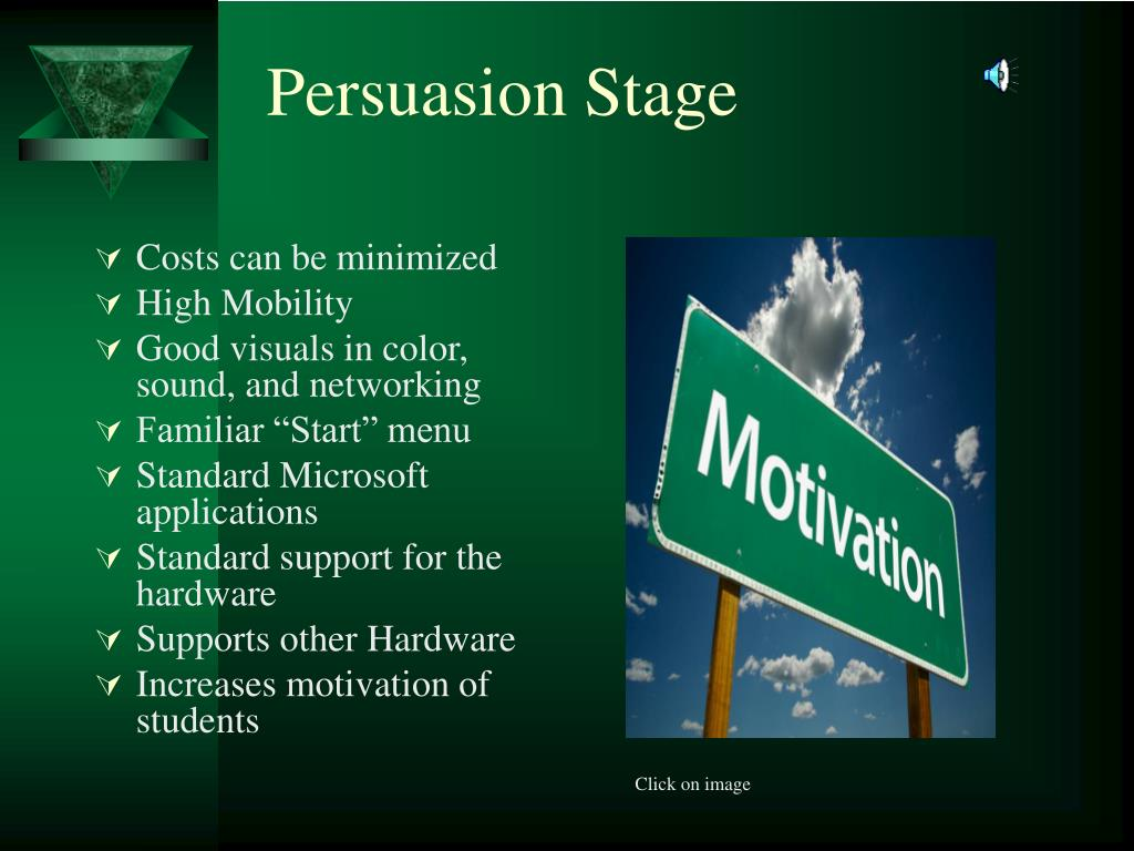 Persuasion Stage
