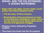 israel and the palestinians a jewish reframing