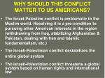 why should this conflict matter to us americans