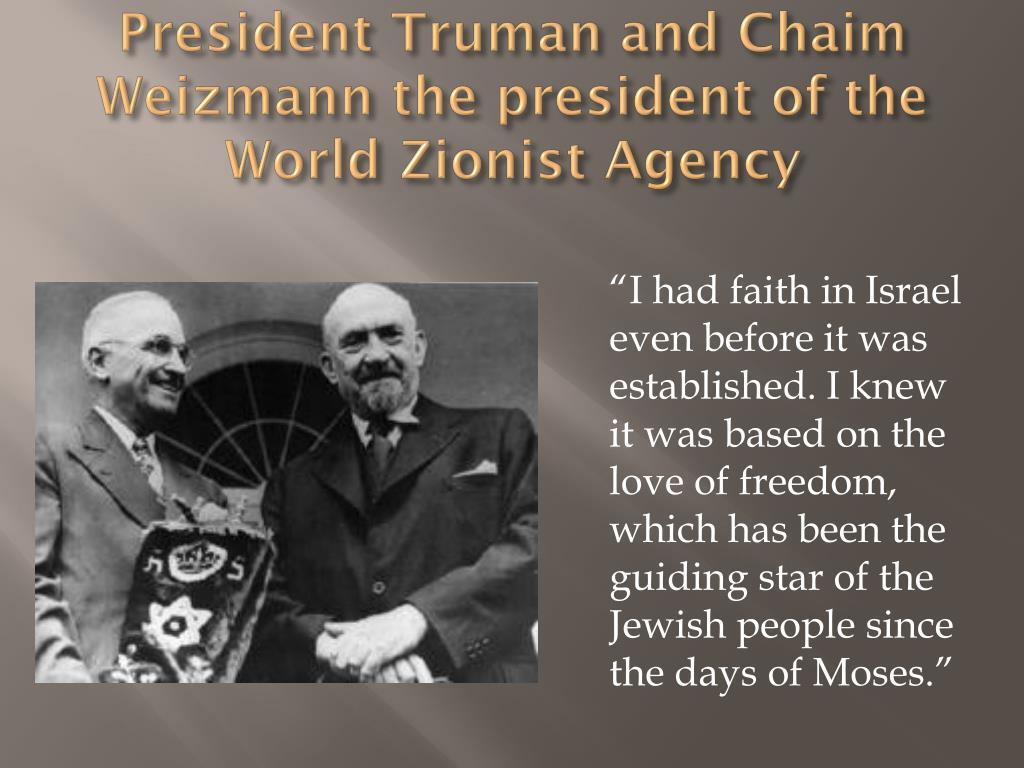 President Truman and