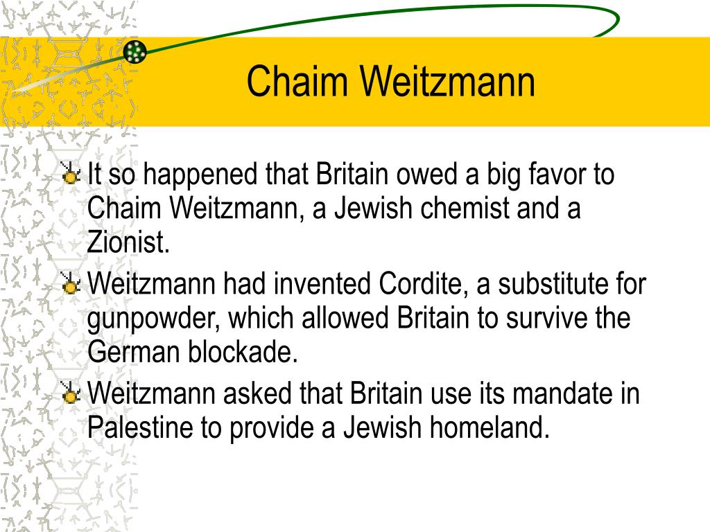 Chaim Weitzmann