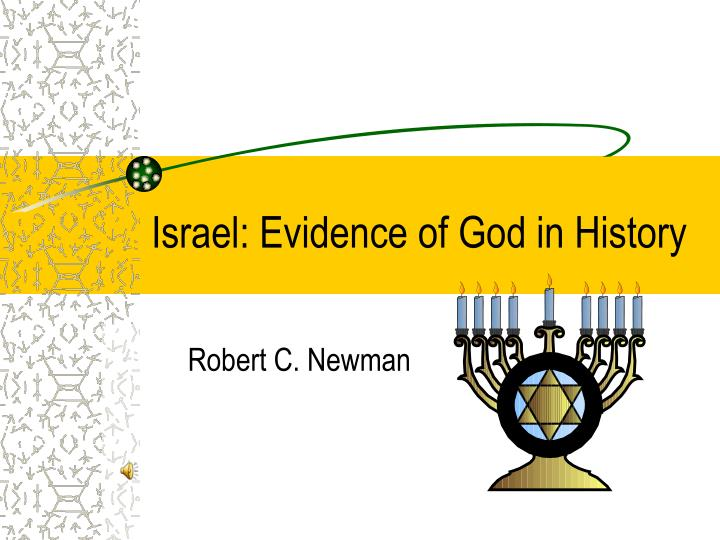 Israel evidence of god in history