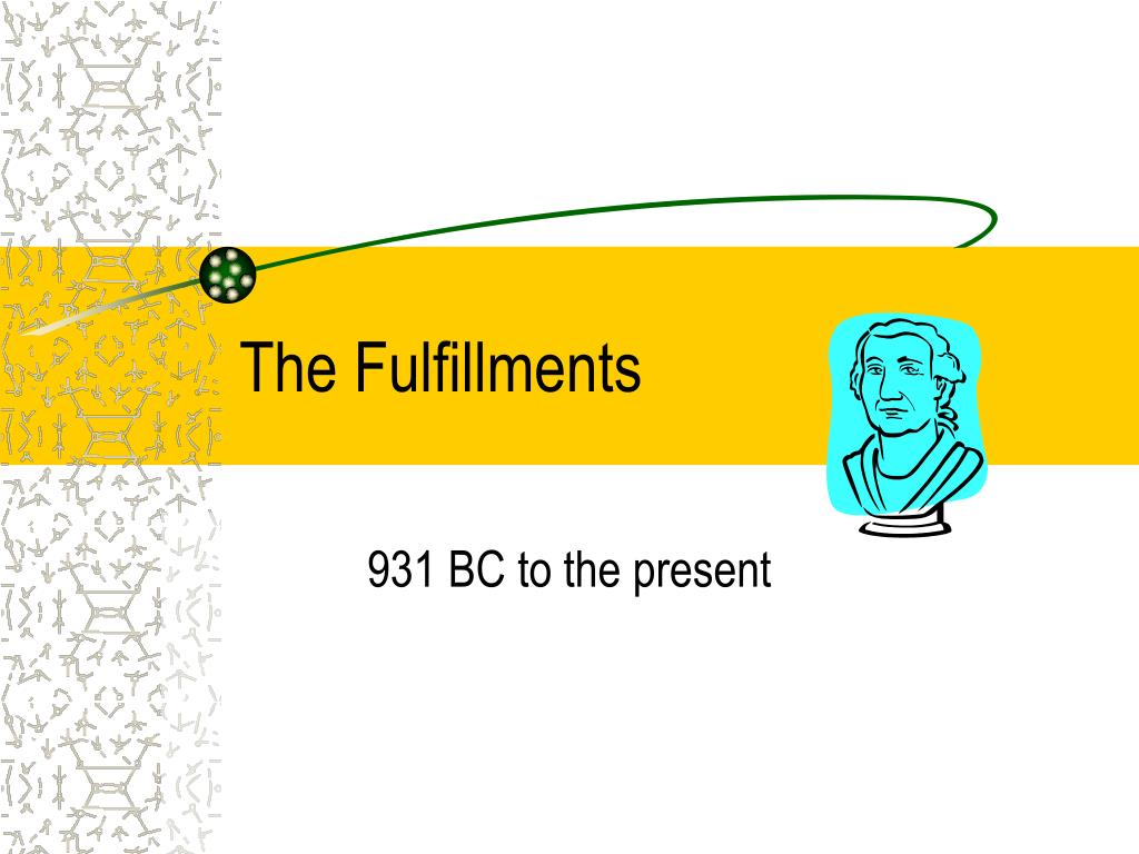 The Fulfillments