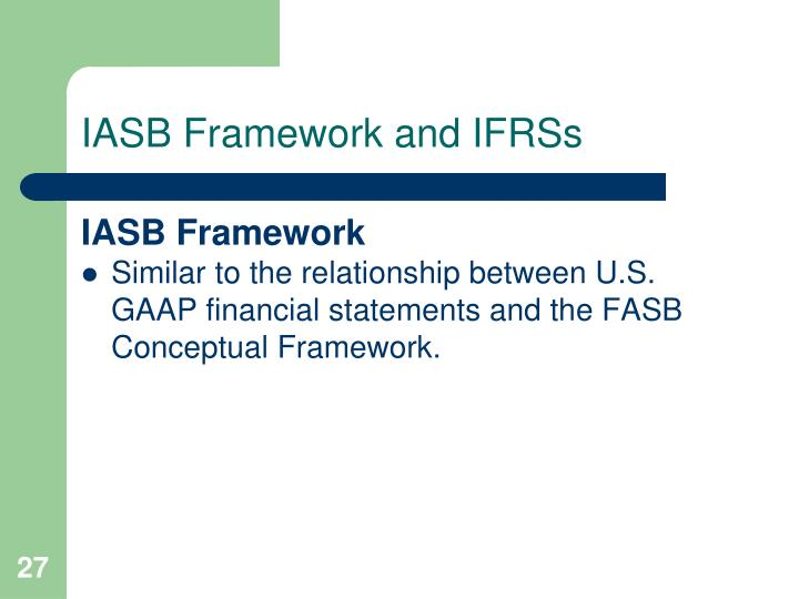 relationship between iasb and fasb What you need to know about the relationship between the sec, the fasb and gaap by michael c dennis, mba, cbf financial accounting is concerned with providing useful and accurate.